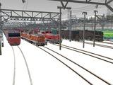 雪景色と貨物交換駅レイアウト54.jpg