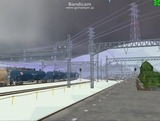 北の貨物駅通過中Ef65重連6