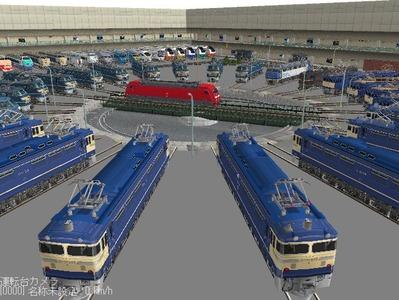 VRM3版車両博物館機関車ターンテーブル5