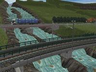 東北本線越河南トンネル大滝4