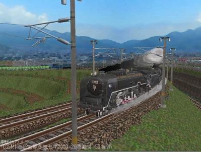 越河レイアウト特急シリーズ番外C62重連セキ3000-3