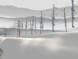 仮想津軽海峡線複線S字化工事15