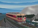 待避線レイアウト追加ローカル線キハ82-4