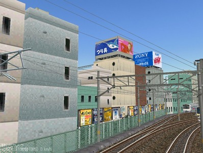 KATOユニトラックレイアウトプ6-9中央駅前周辺10