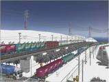 雪景色完成その26見張線6