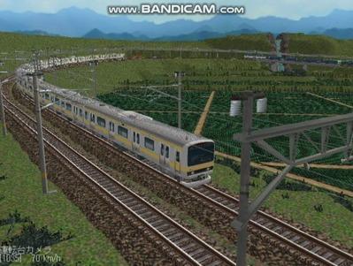 越河レイアウト電車シリーズ73-E231系総武線9
