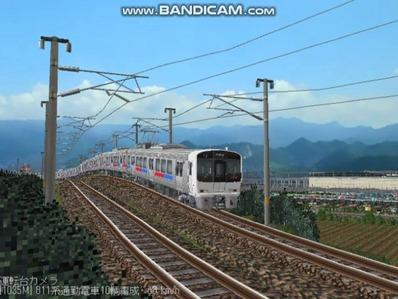 越河レイアウト電車シリーズ67-811系JR九州電車4