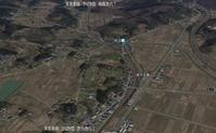 東北本線越河駅航空写真仙台方向1