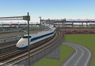 KATOレイアウトプラン集6-9新幹線100系-1