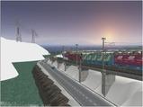 雪景色完成その26見張線8