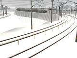 雪景色と貨物交換駅レイアウト58.jpg