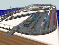 VRM3版貨物レイアウト鉄道博物館改造17