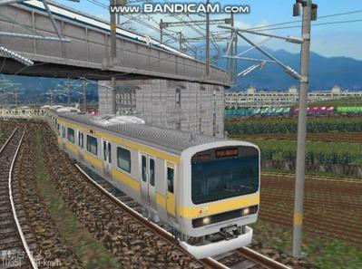 越河レイアウト電車シリーズ73-E231系総武線5
