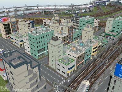 KATOユニトラックレイアウトプ6-9中央駅前周辺15