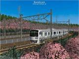 進撃の通勤電車40  JRE217系二階建て2.