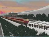 待避線レイアウト追加ローカル線キハ183系国鉄色1