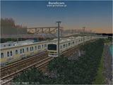 進撃の通勤電車4 E231系1