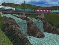 東北本線越河南トンネル大滝7