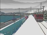 津軽海峡線コンテナ貨物8
