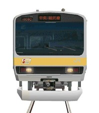 109 E231系カナリア色総武線3