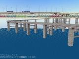 瀬戸大橋1000トン試験34