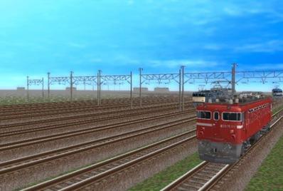 VRM5貨物牽引機関車動画から2