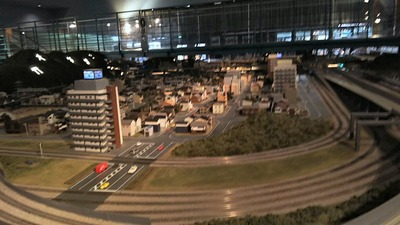 ジオラマ京都HOゲージ右側奥5