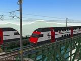 スイス国鉄IC2000二階建て客車4.
