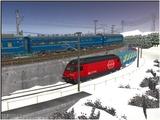 雪景色完成その11 SBBR403-3