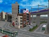 3欲張り新幹線レイアウト踏切道部分79