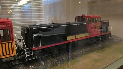 ジオラマ京都嵯峨野トロッコ列車模型3DE10