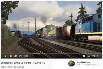 アメリカンディーゼル機関車Trainz動画3