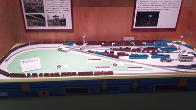 Tomix貨物レイアウト鉄道博物館1