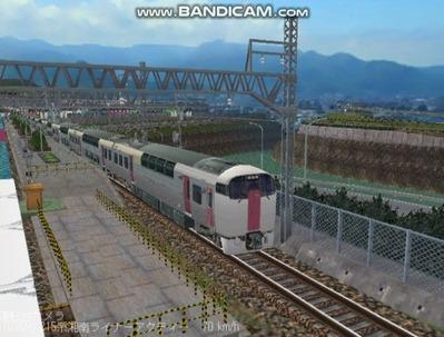 越河レイアウト特急シリーズ20-215系湘南ライナー4