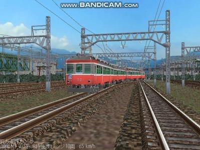 越河レイアウト103シリーズ112-箱根登山鉄道10