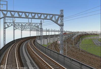 KATOユニトラックレイアウトプラン集6-9貨物線上り線4