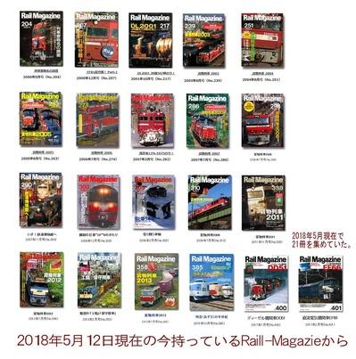 RailMagazineバックナンバー2018