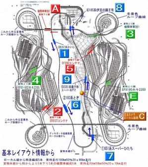 リバーシブル貨物本線編成用レイアウト改造2