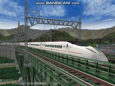 越河レイアウト東北新幹線800系つばめ5
