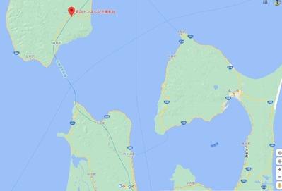 青函トンネル出口付近地図6