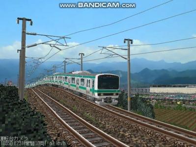越河レイアウト電車シリーズ72-E231系常磐線4