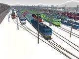 雪景色と貨物交換駅レイアウト53.jpg