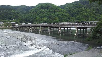 嵐山 渡月橋2