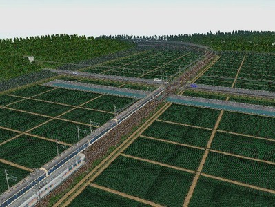 VRM3版気動車さん越河東北本線練習全景2