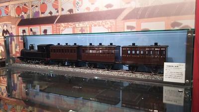 京都鉄道博物館141-1号蒸気機関車と客車