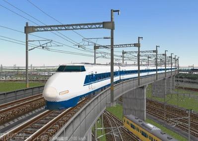 KATOレイアウトプラン集6-9東海道新幹線100系ひかり5