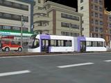 VRM3富山ライトレール紫色.