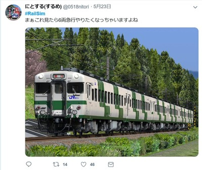RailSimにとする(するめ)さん2019.5.23.1