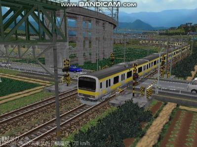越河レイアウト電車シリーズ77-209系500番台6
