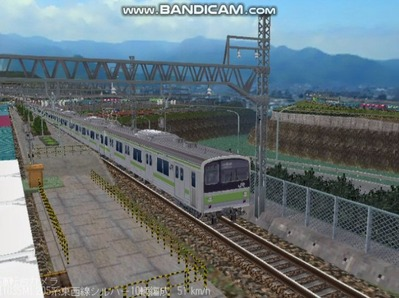 越河レイアウト電車シリーズ78-205系山手線3